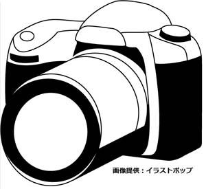 カメラ画像 by イラストポップ