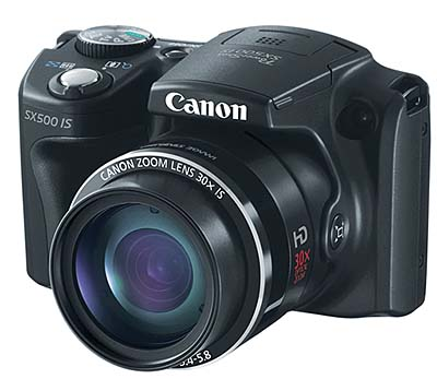 Canon PowerShotSX500IS