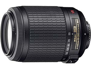 ニコン AF-S DX VR Zoom-Nikkor 55-200mm f/4-5.6G IF-ED