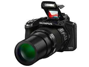 OLYMPUS SP-100 with DOT SIGHT
